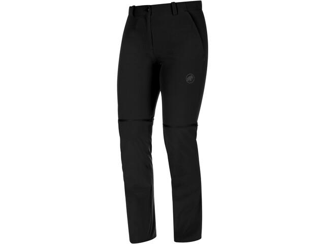 Mammut Runbold Pantalón Zip-Off Mujer, black